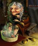 Baba Yaga by AliceSad