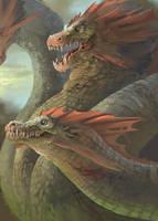 HOMM3 Hydra by AliceSad