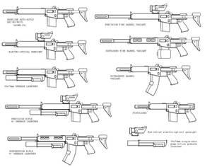 AR2-M1 / M225 Confed-Auto-Rifle AND ZOMG GUN-FLUFF