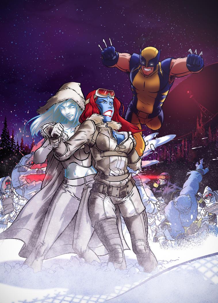 X-Men fanart by dronio