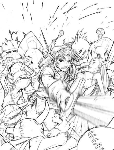 Zelda by dronio