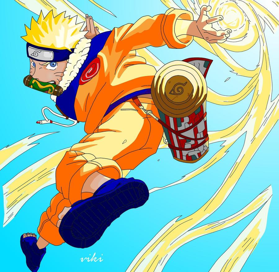 Naruto Uzumaki coloreado by viki9 on DeviantArt