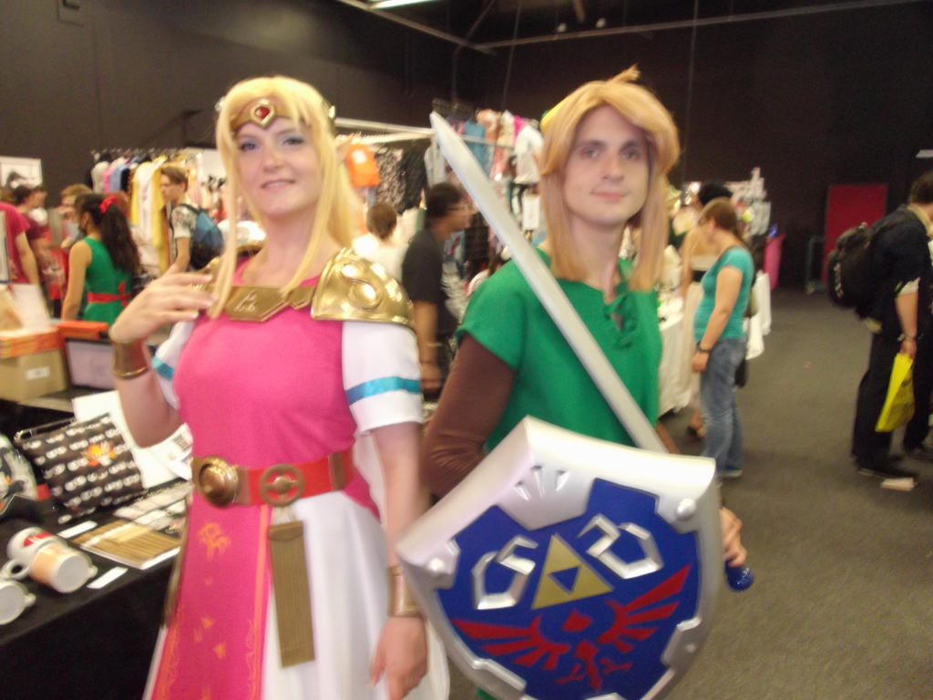 link and zelda abunia 2015 by momo9chan