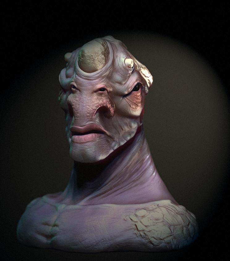 Creature Sculpt by Tenshi-voodoo
