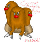 Dugtrio's Lower Half