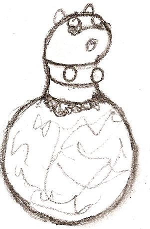 Fakemon: Scaroll by DigitalFlareon