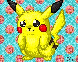 Tribute to Pikachu by DigitalFlareon