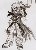 NarutoOC Akira Gintsuki by DigitalFlareon