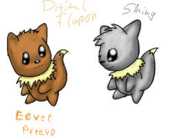 Fake Pokemon-Prevee by DigitalFlareon