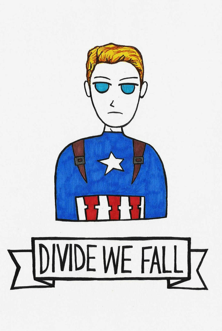 Divided We Fall: Steve Rogers by michnguyenart