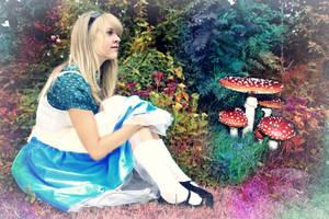 Alice in Wonderland . by Mariehoene