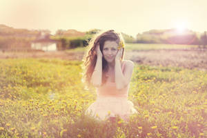Golden hours by Mariehoene