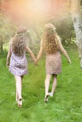 Garden girls 1 by Mariehoene
