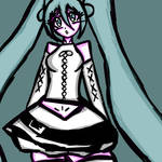 Hatsune Miku Aile d'Ange module fanart