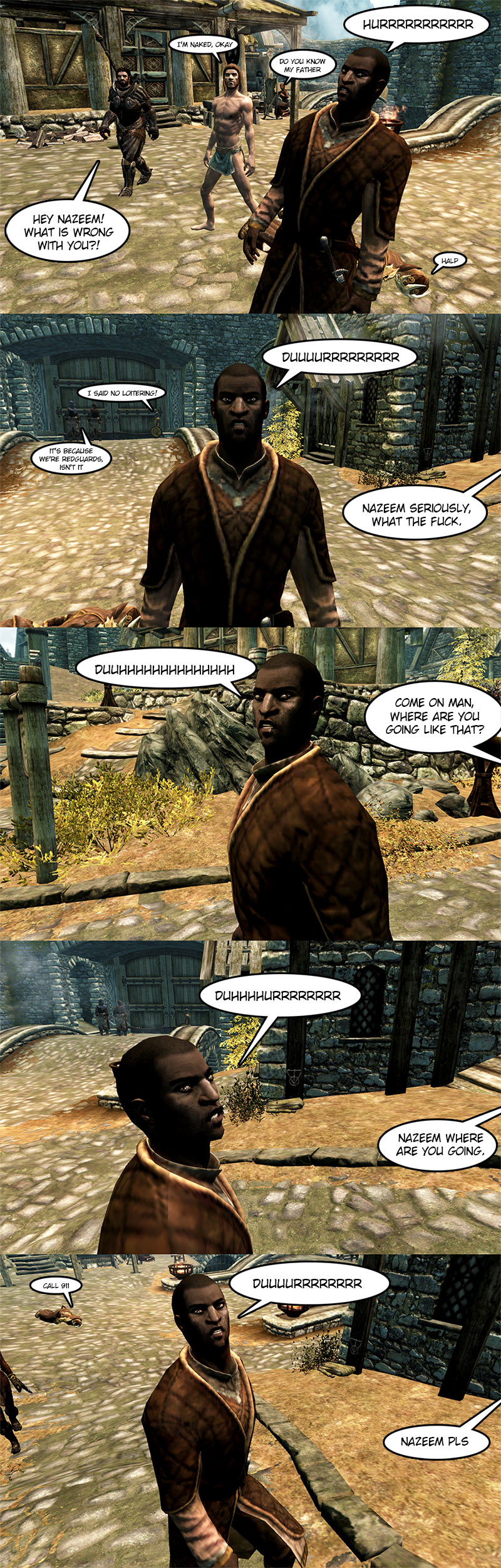 Hey Nazeem by spaceskeleton
