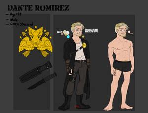 Dante Romirez reference sheet
