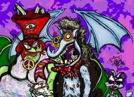 Fruitbats on Acid, trade w. Dean Packis