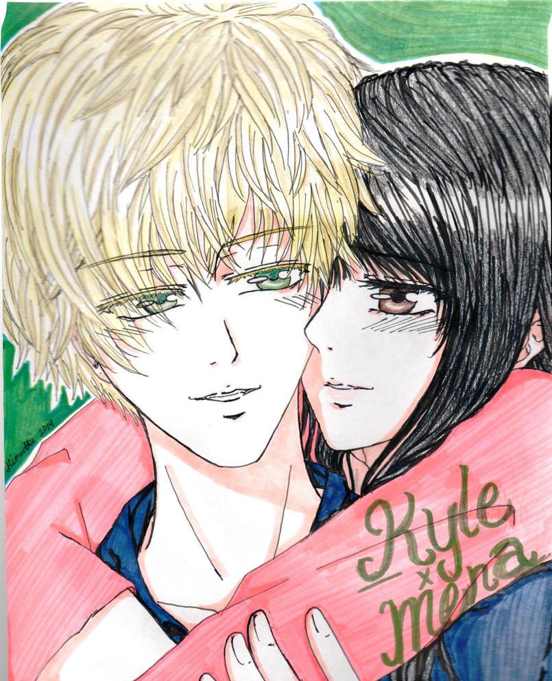 Kyle x Mena by Kanamesama913