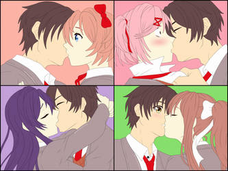 MC x Everyone Kissing by Remchi301