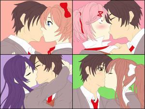 MC x Everyone Kissing