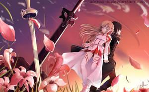 Sword Art Online Fanart by Aintza-K
