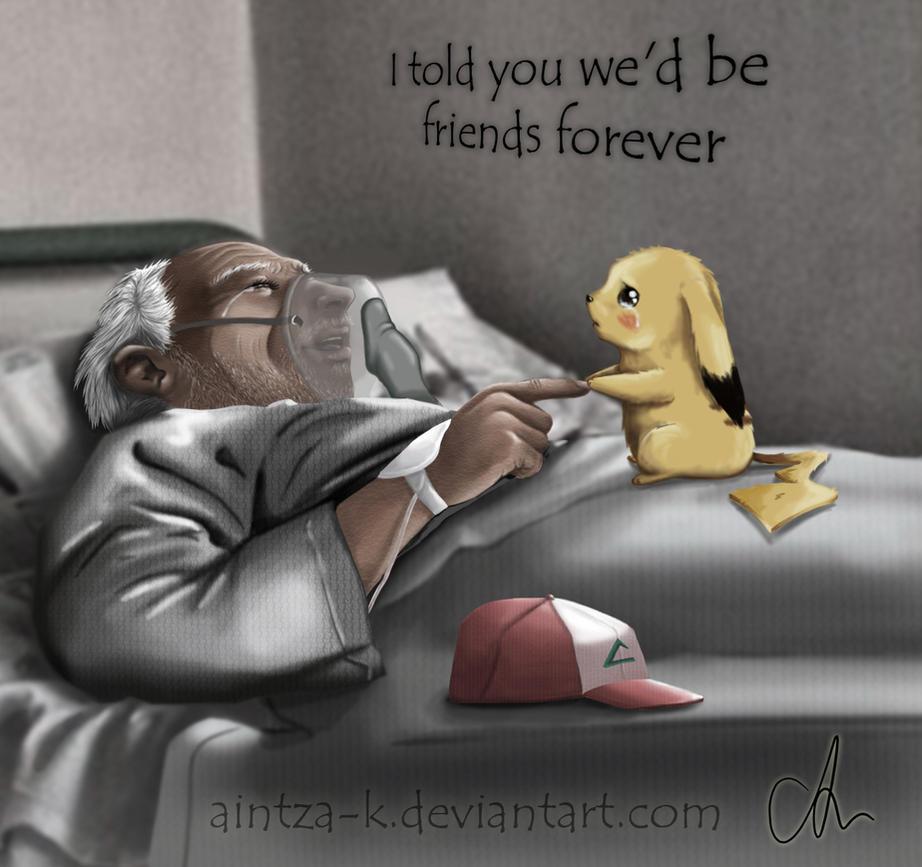 Friends forever | Pokemon fanart by Aintza-K