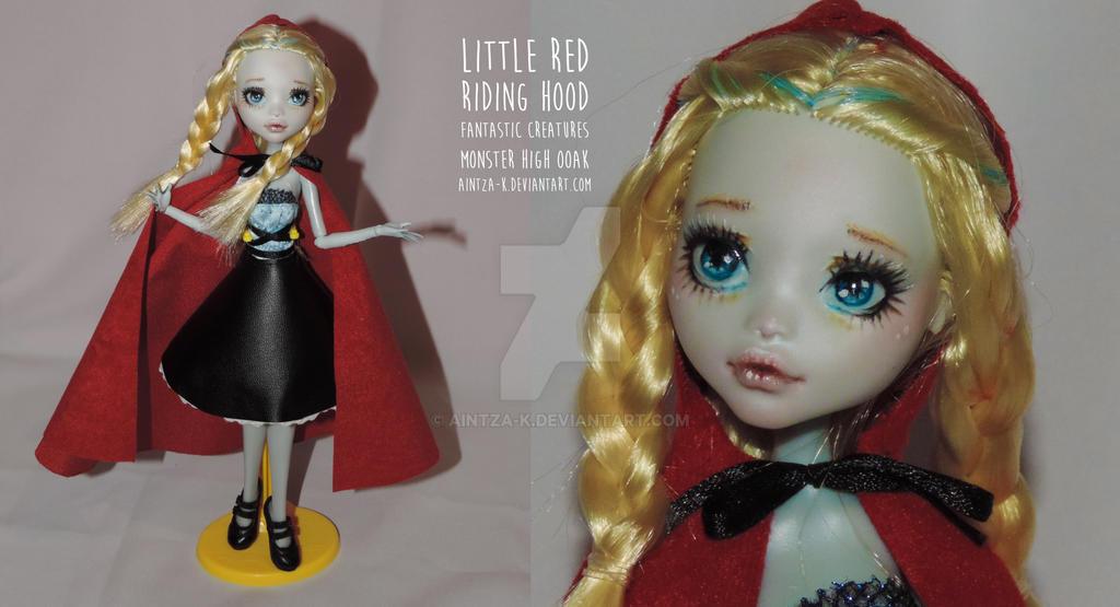 Little Red Riding Hood Monster High OOAK  ON SALE by Aintza-K