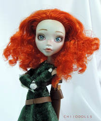 Merida | Monster High doll by Aintza-K