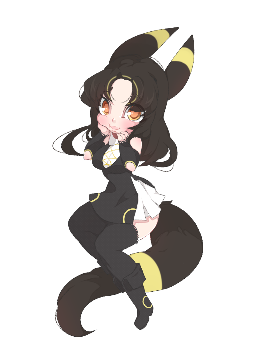 umbreon gijinka by punipaws on DeviantArt Pokemon Gijinka Umbreon