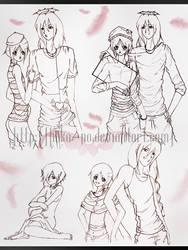 Sketches by Hoka-no