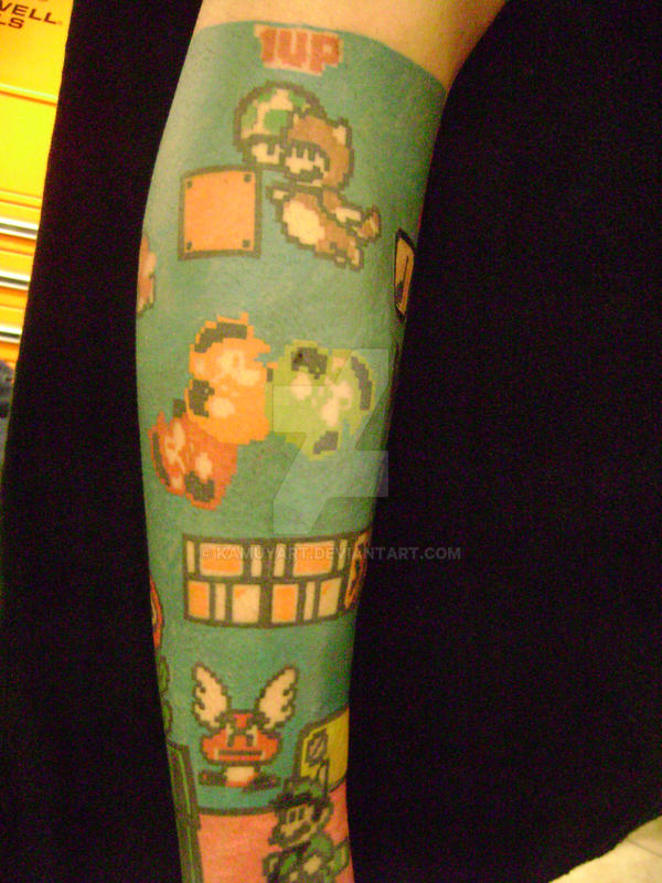 super mario tat 3 by kamuyart