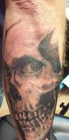 skull with eye