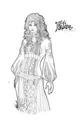 Helene by DarkMelusine