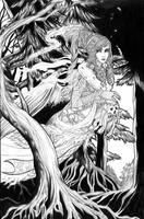 La fee Melusine by DarkMelusine