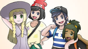 The Gang! (Pokemon: Sun and Moon) by CaiusArcaden