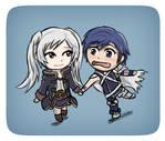 Robin and Chrom ~ Chibi Form