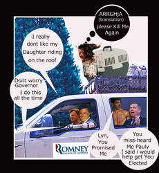 Romney Ryan The Governor And Lyndsie Graham by Mortifann