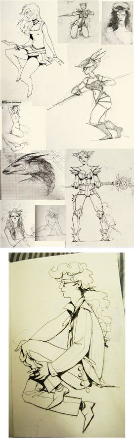 OLOLOS OF SKETCHES 4