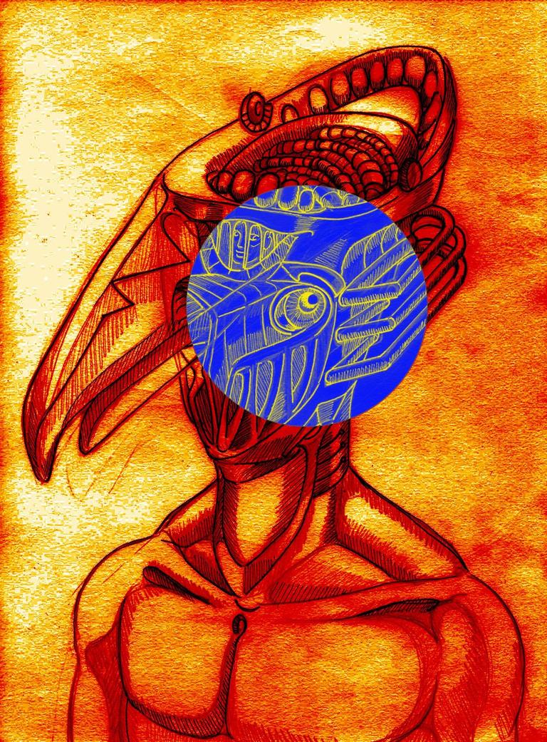 l'oiseau mecanique by alpharomano