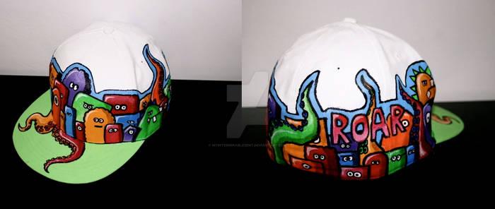.monster cap.