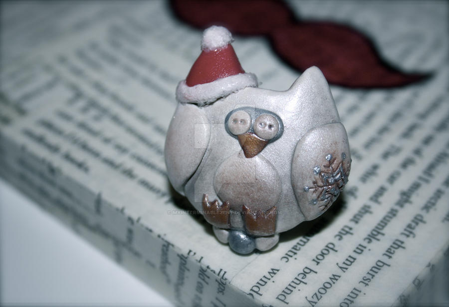 .christmas owl. by MyInterminableZent