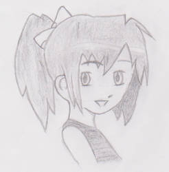 First try drawing Anime by eL-Falso