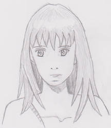 Second try drawing Anime by eL-Falso