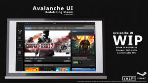 Avalanche UI Steam Skin *CANCELED*