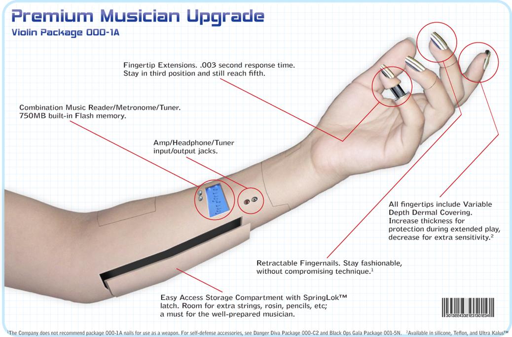 Premium Musician Upgrade by Llyzabeth