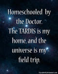 Homeschooled by the Doctor