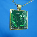 Circuit Board Pendant: Diodes