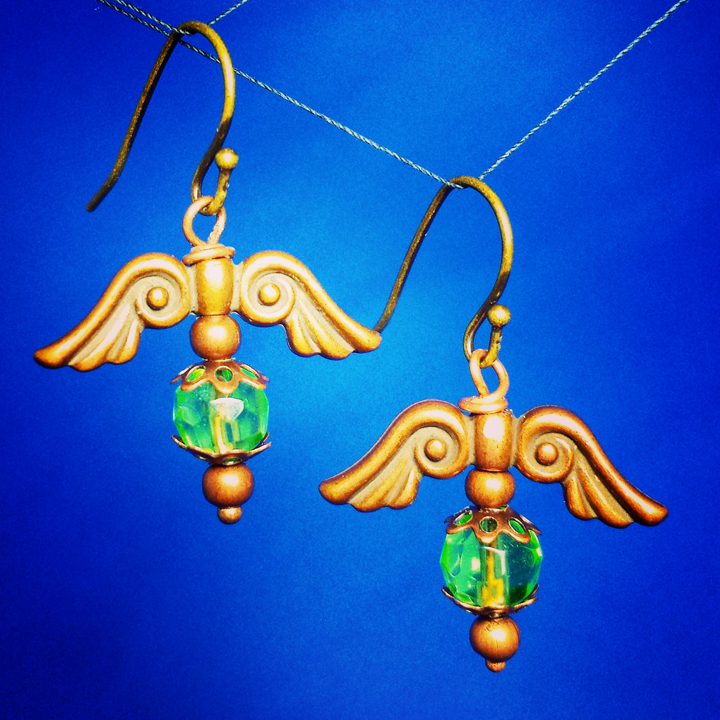 Brass Wings and Glass by Llyzabeth