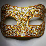 Music and Gold Mask