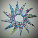12-point map star
